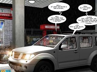 3D Comic Chaperone 9394