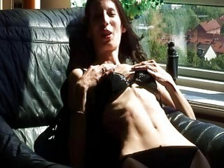 Hardcore skinny babe with little titties