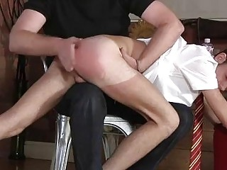 Amazing twinks Spanking The Schoolboy Jacob Daniels