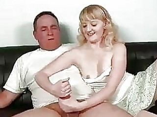 Teen Turns On At The Sight Of Uncles Thick Meat