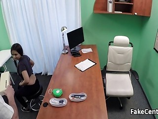 Doctor fucks teen patient in office