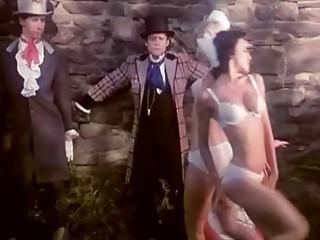 Kristine DeBell Bucky Searles Gila Havana in vintage porn scene