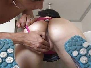 Fucking of juicy love tunnel and ass hole