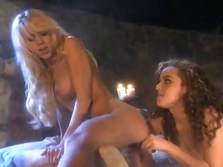 Hot bitch lesbians Katie Morgan and Natasha Nice taste each others twats