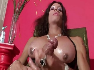Karen  Big Cock Tranny Playing With Her Penis