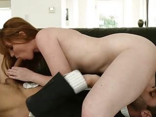 Redhead Swinger Wife Marie McCray Has Her Pretty Pussy Slammed Pink