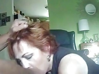 Mature wife used in the mouth before fucking