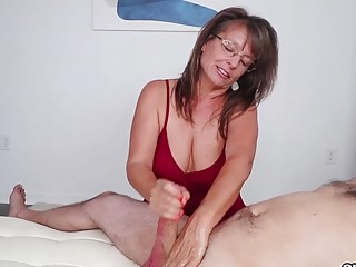 The Cock Milking MILF  Club Tug