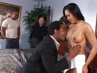Interracial Swinging With Asian MILF