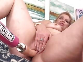 Golden Slut  Mature Women Getting Railed by Fucking Machines Compilation 6