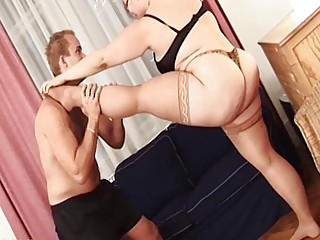 extreme flexi sex with my bbw stepsister