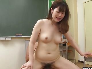 Japanese student Hanaho fucked a professor uncen