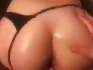 Tight butt real amateur milf fucked doggy and cumm